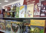 Rack of Munchkin at Barnes & Noble in La Frontera Shopping Center, Round Rock, TX