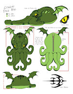 Cthulhu Dice Bag specs