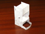 Single Page Dice Tower, assembled