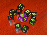 Zombie Dice and Cthulhu Dice