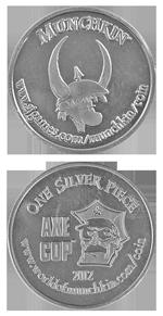 Munchkin Axe Cop Silver Piece 2012