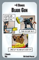Munchkin Axe Cop card: Blade Gun
