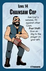 Munchkin Axe Cop Monster: Chainsaw Cop