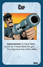 Munchkin Axe Cop: Cop