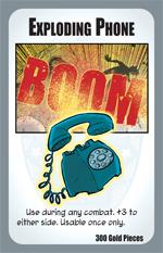 Munchkin Axe Cop: Exploding Phones