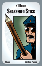 Munchkin Axe Cop: Sharpened Stick