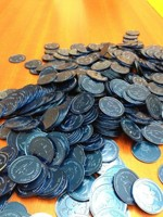 Blue Munchkin Silver Pieces!
