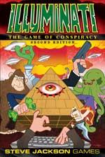 Illuminati 2nd Edition -  Steve Jackson Games