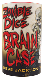 Zombie Dice Brain Case