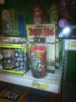 Zombie Dice! On the shelf!