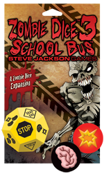 You know those brains are tasty because they're on their way to school!