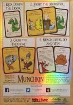 Munchkin, explained in four easy panels.