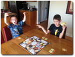 Kids love Munchkin Treasure Hunt!
