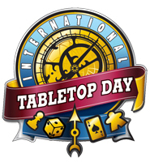 We're sponsoring International TableTop Day!