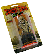 Zombies love brains but they also love dice! Diiiiiice!