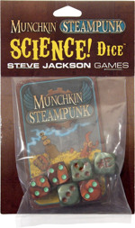 Munchkin Steampunk Science Dice cover