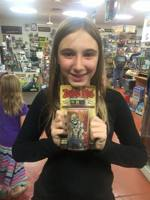 Girl with Zombie Dice