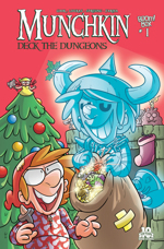 Munchkin comic - Deck the Dungeons