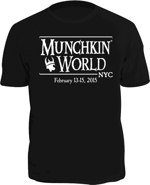 Munchkin World NYC Shirt
