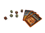 Munchkin Steampunk Science Dice components