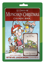 12 Days Of Munchkin Coloring Book