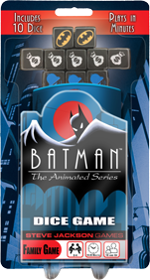 Batman: The Animated Series Dice Game