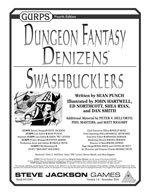 GURPS Dungeon Fantasy Denizens: Swashbucklers
