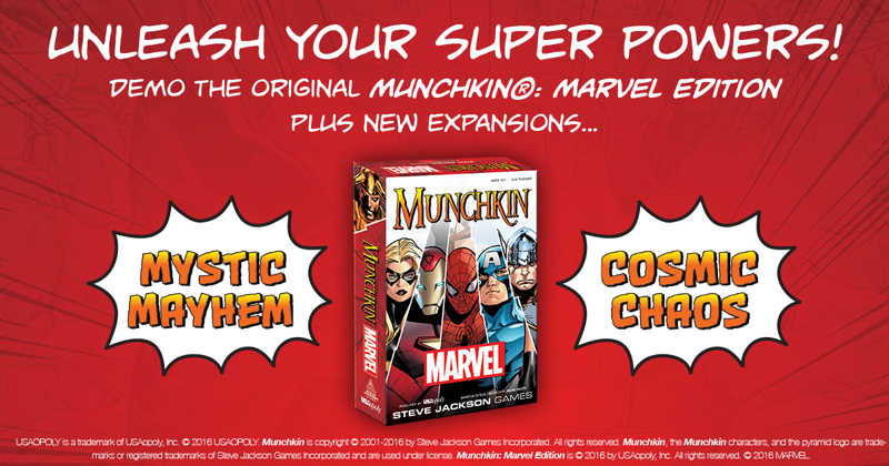 Munchkin Marvel Demo