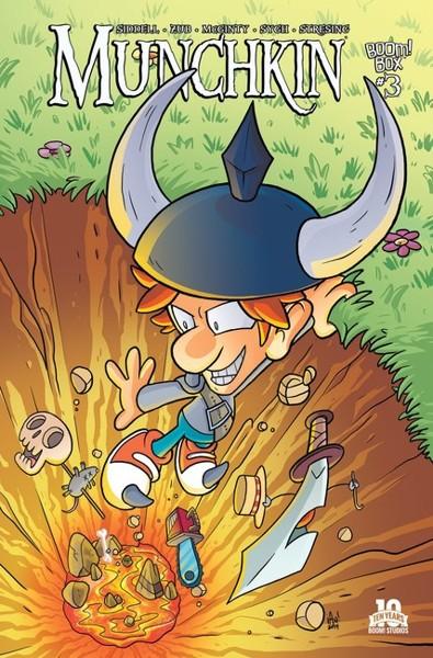 Daily Illuminator: Munchkin Comics Available in Warehouse 23!