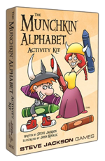 The Munchkin Alphabet Activity Kit