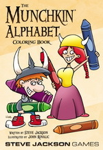 Munchkin Coloring Book