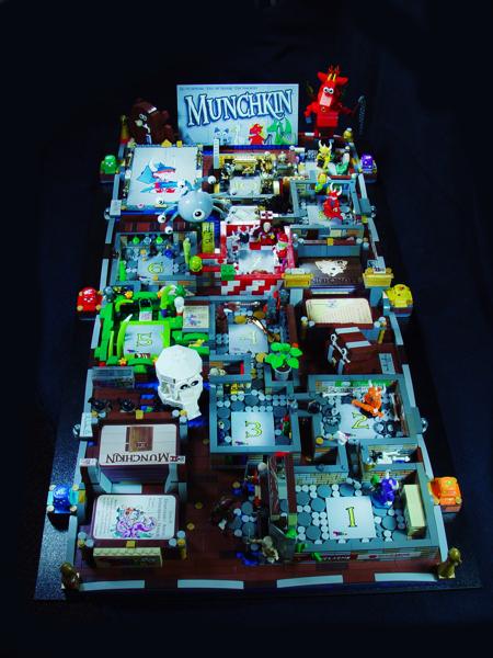 Daily Illuminator The Munchkin Lego Game Board