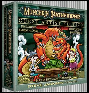 Munchkin Pathfinder Guest Artist Edition