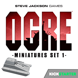 Ogre Miniatures Set 1