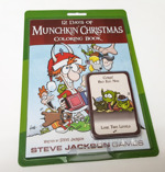Munchkin Christmas Coloring Book