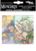 Munchkin Door And Treasure Card Sleeves