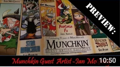 Munchkin Guest Artist Edition Preview