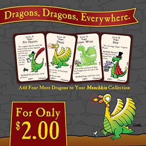 Munchkin Dragons: Four More