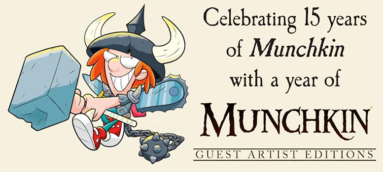 Munchkin Guest Artist Editions