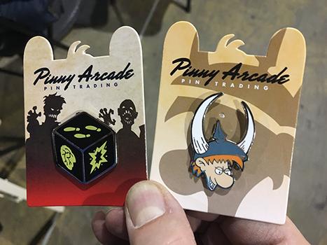 Pinny Arcade Pins