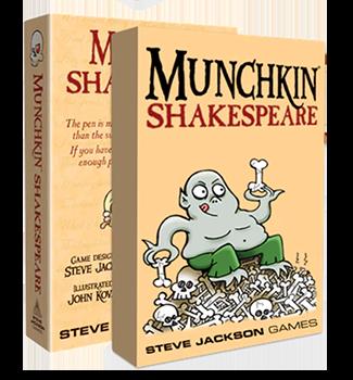 Munchkin Shakespeare Expansion