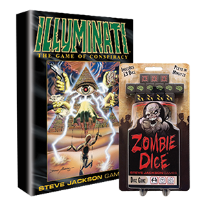 Zombie Dice and Illuminato