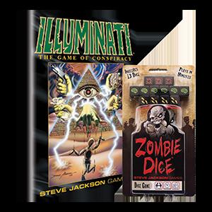 Zombie Dice and Illuminato