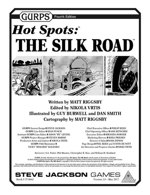 GURPS Hot Spots: The Silk Road