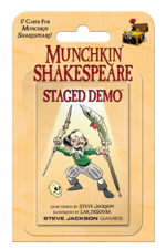 Munchkin Shakespeare Staged Demo