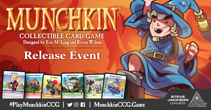 Daily Illuminator: Munchkin Collectible Card Game Release Event ...