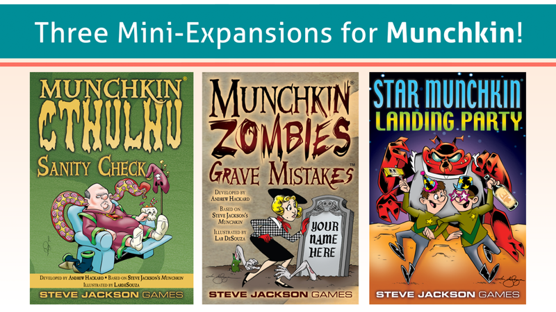 Munchkin Mini-Expansions