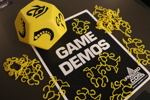 FnordCon Game Demos Sign