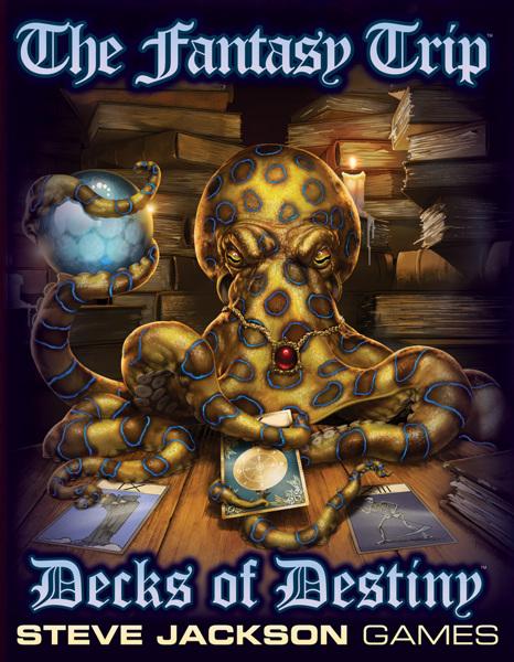 The Fantasy Trip Decks of Destiny