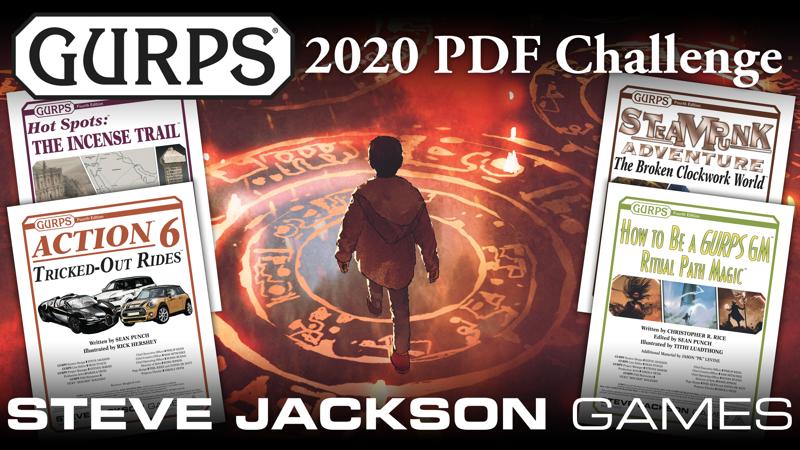 GURPS 2020 PDF Challenge